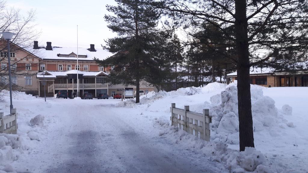 Kuvassa Alfaconin fyysinen paikka eli Otavan opisto